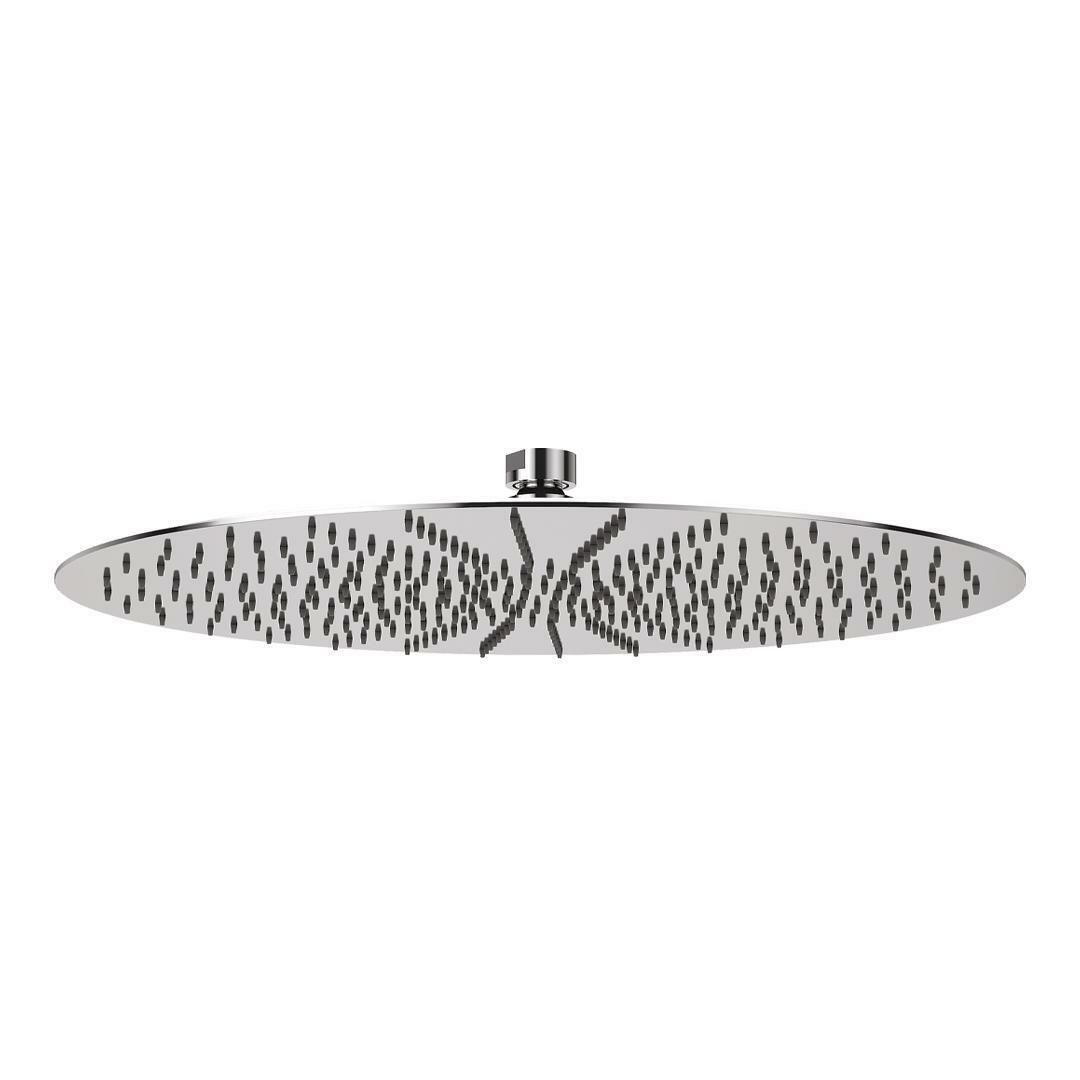 specialisti del bagno soffione ultraslim in  acciaio inox tondo diametro 40 cm specialistidelbagno