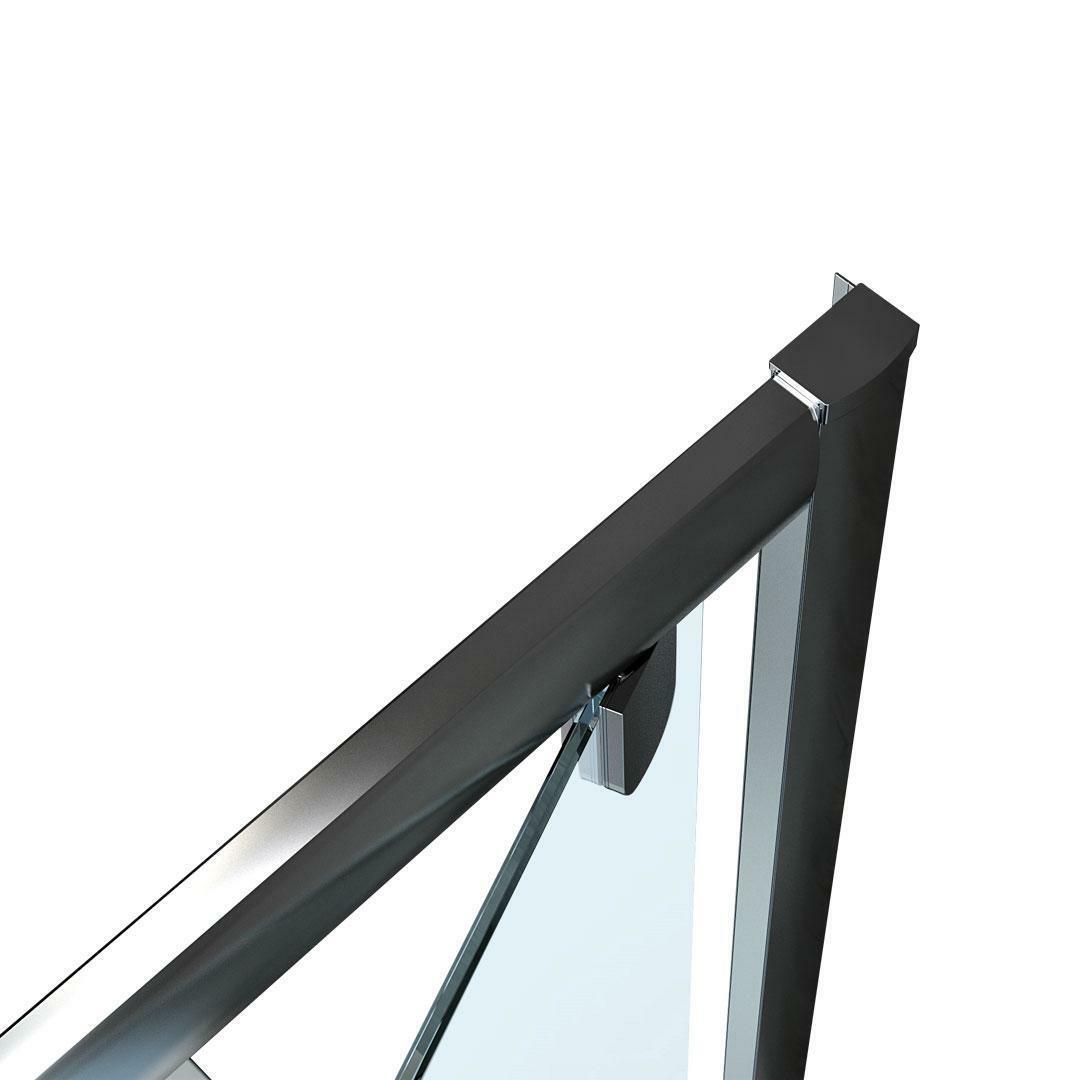 specialisti del bagno box doccia lepanto porta battente e lato fisso 90x100 reversibile trasp. specialistidelbagno