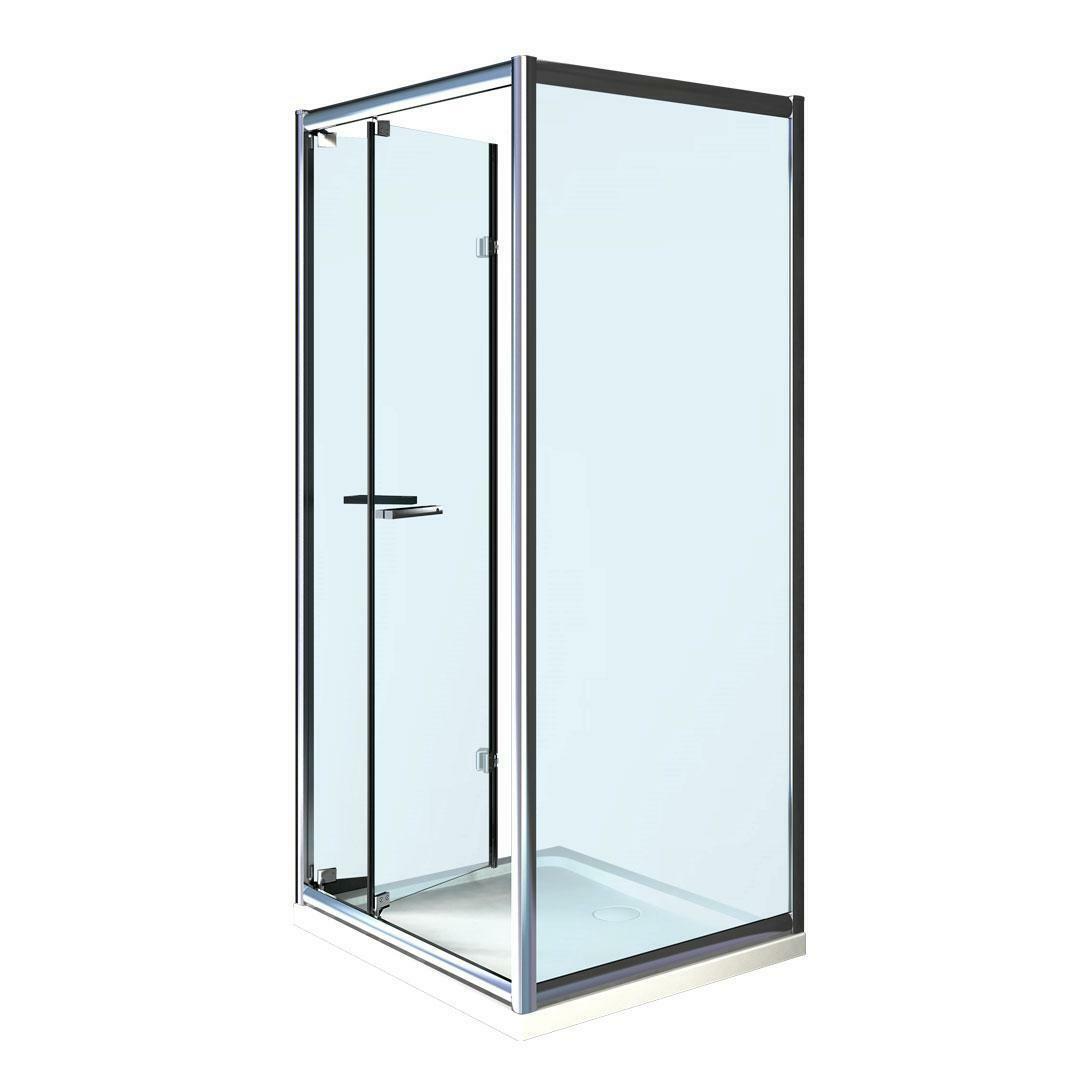 specialisti del bagno box doccia cipro porta libro e lato fisso 80x90 reversibile trasp. specialistidelbagno