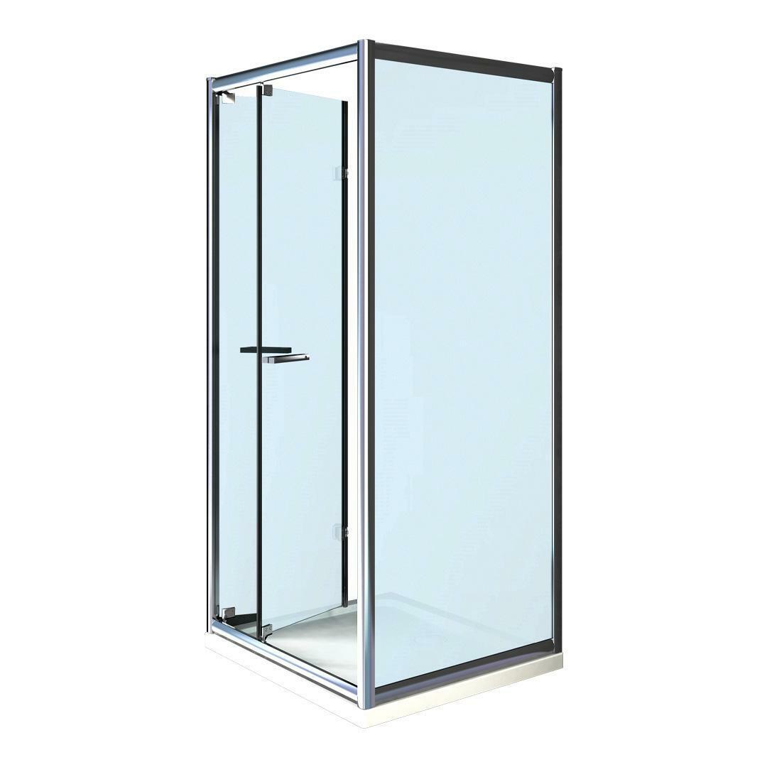 specialisti del bagno box doccia cipro porta libro e lato fisso 80x105 reversibile crepé specialistidelbagno
