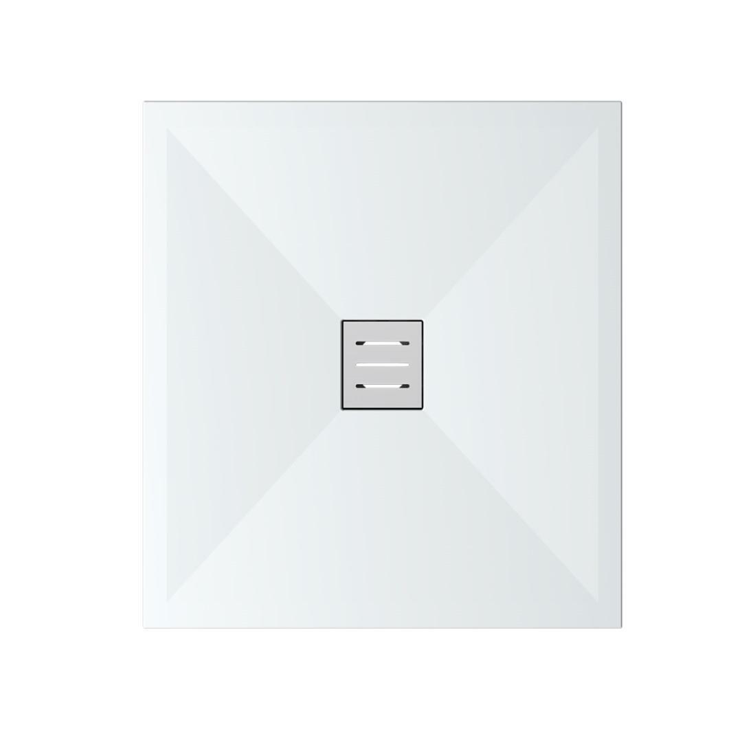 specialisti del bagno piatto doccia diamond flat senza bordo quadrato 90x90 h4 specialistidelbagno