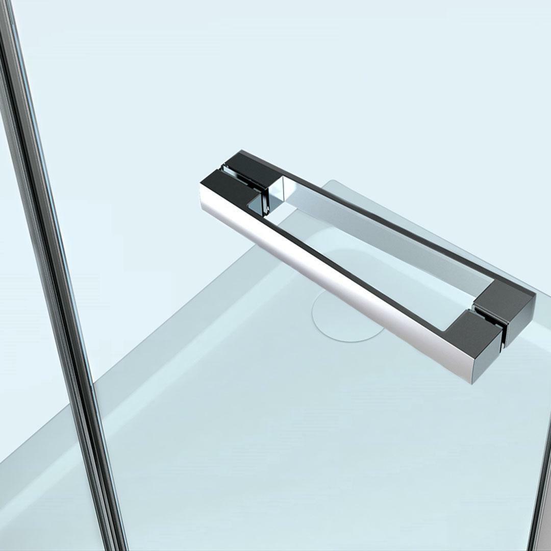 specialisti del bagno box doccia cipro porta libro e lato fisso 80x80 reversibile trasp. specialistidelbagno