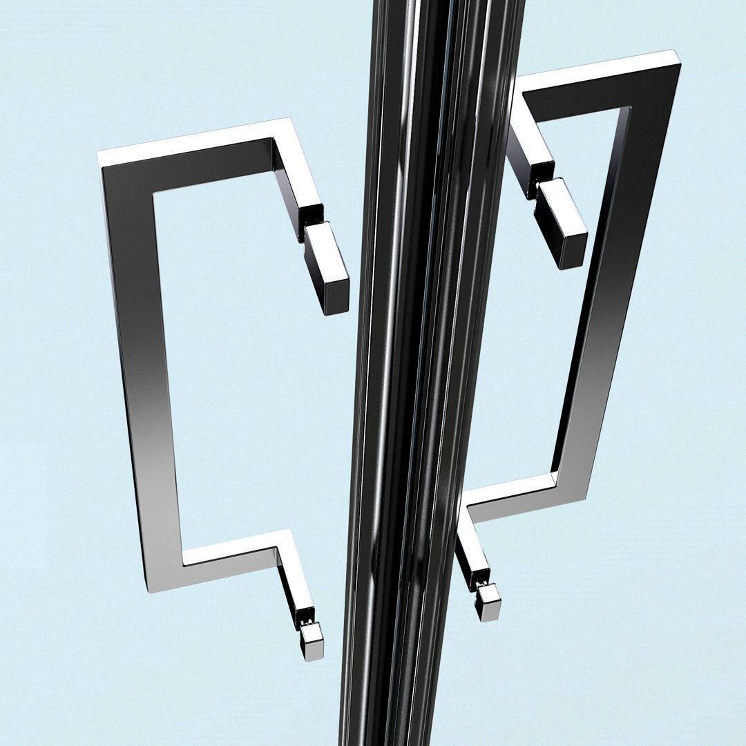 specialisti del bagno box doccia minori porta saloon ad angolo 80x95 reversibile crepe' specialistidelbagno
