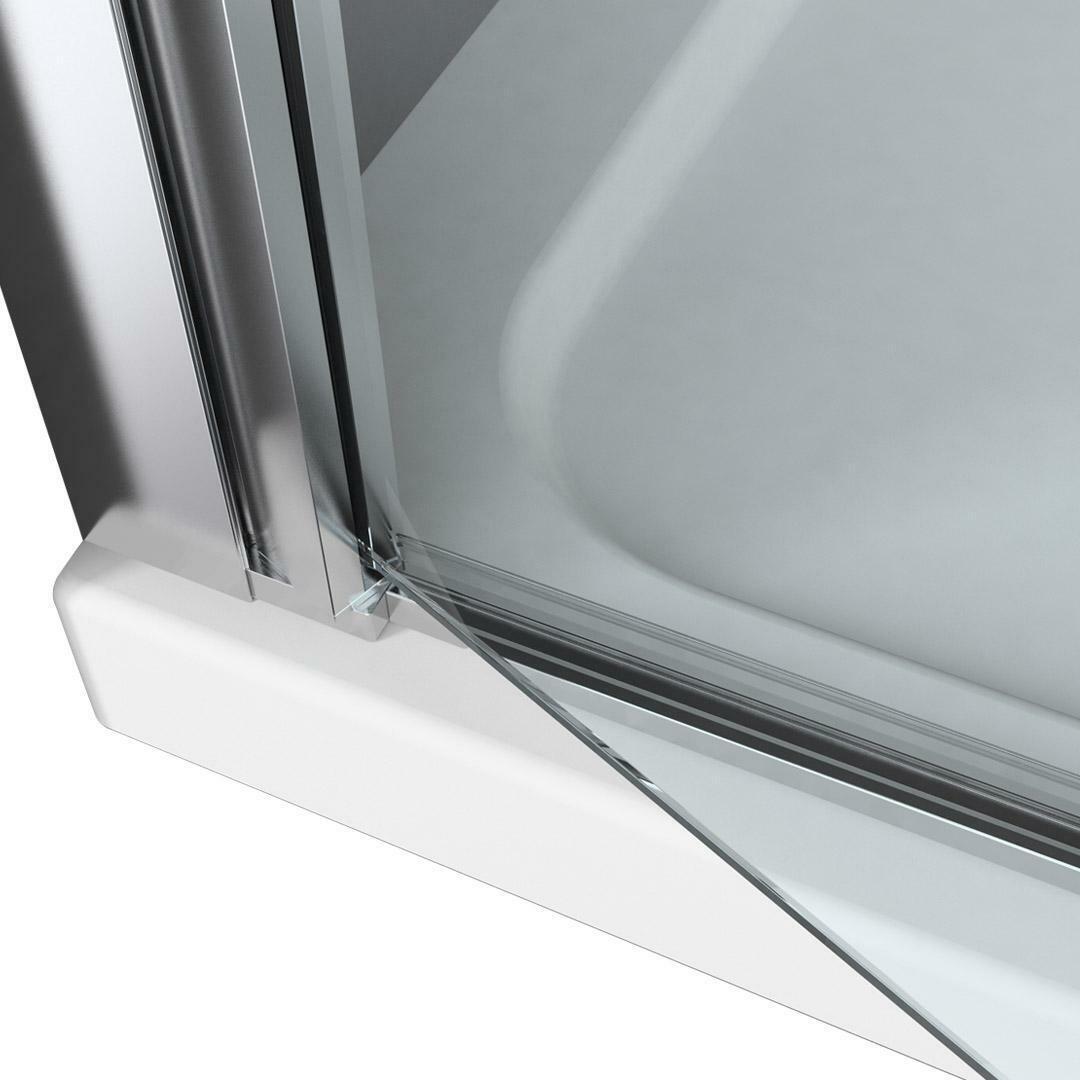 specialisti del bagno box doccia minori porta saloon a nicchia 105 reversibile trasparente specialistidelbagno