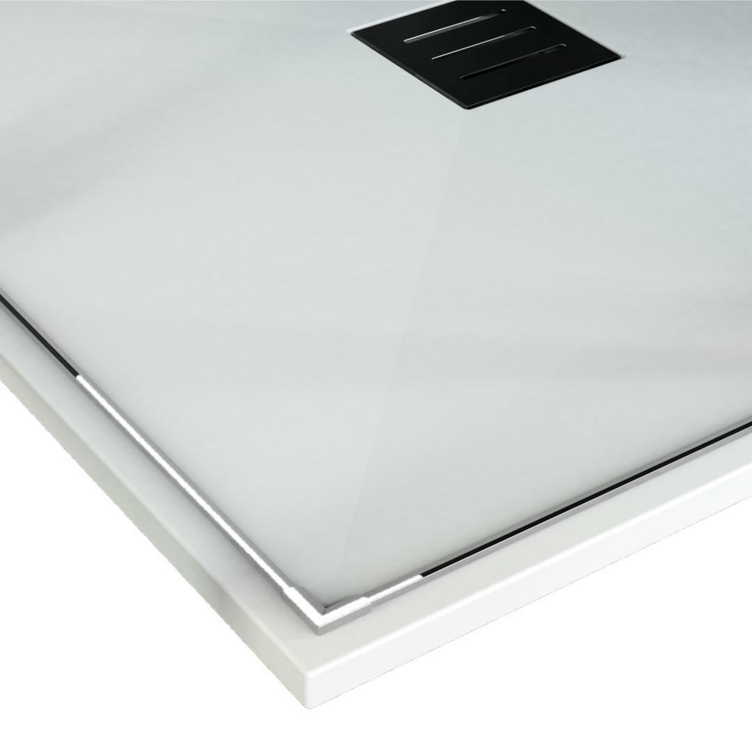 specialisti del bagno piatto doccia diamond flat senza bordo quadrato 80x80 h4 specialistidelbagno