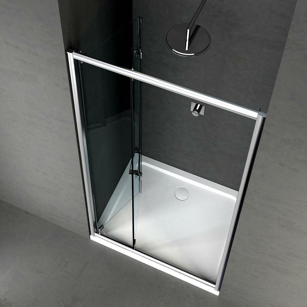 specialisti del bagno box doccia cipro porta libro a nicchia 100 reversibile trasp. specialistidelbagno