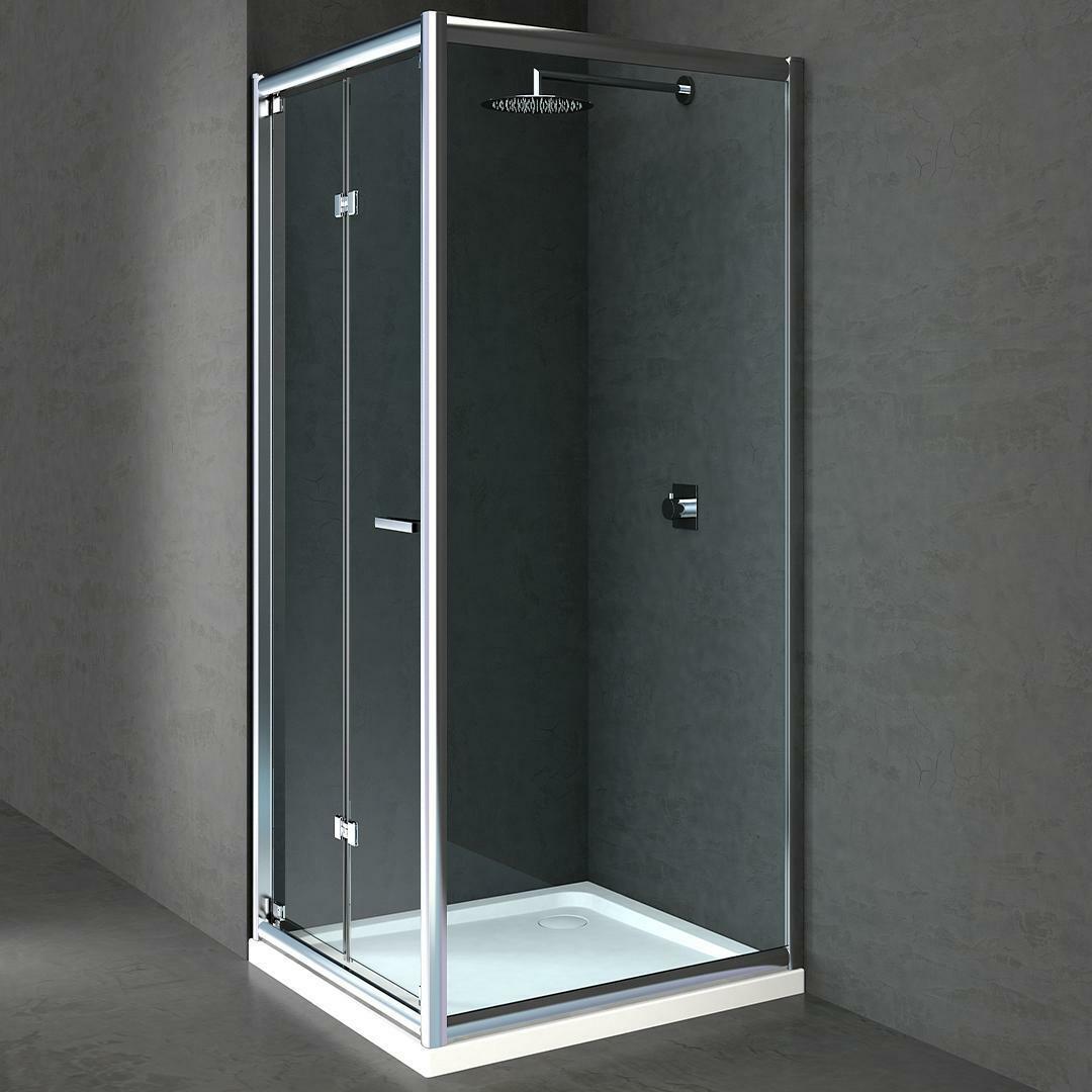 specialisti del bagno box doccia cipro porta libro e lato fisso 70x70 reversibile trasp. specialistidelbagno