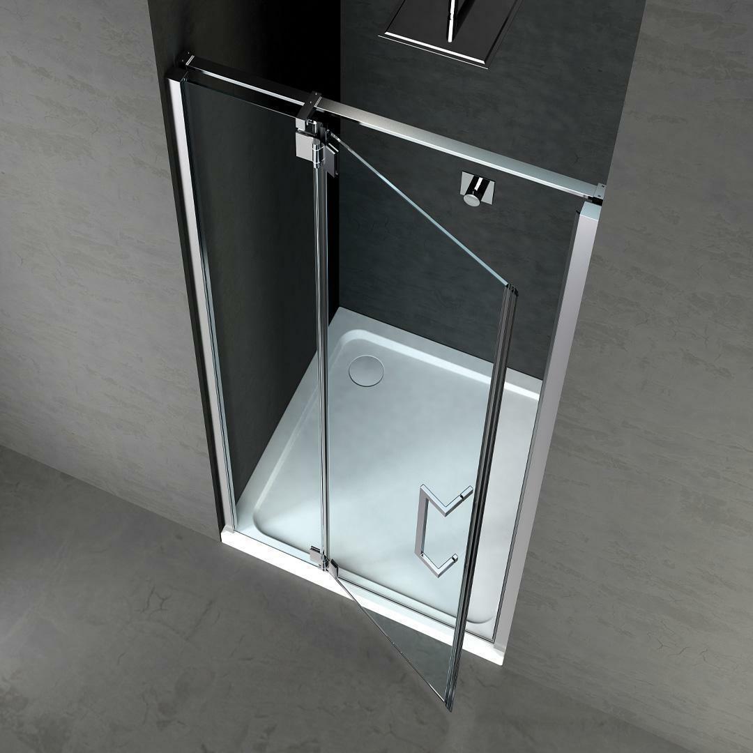 specialisti del bagno box doccia cannes nicchia porta battente 110 reversibile trasparente 8mm specialistidelbagno