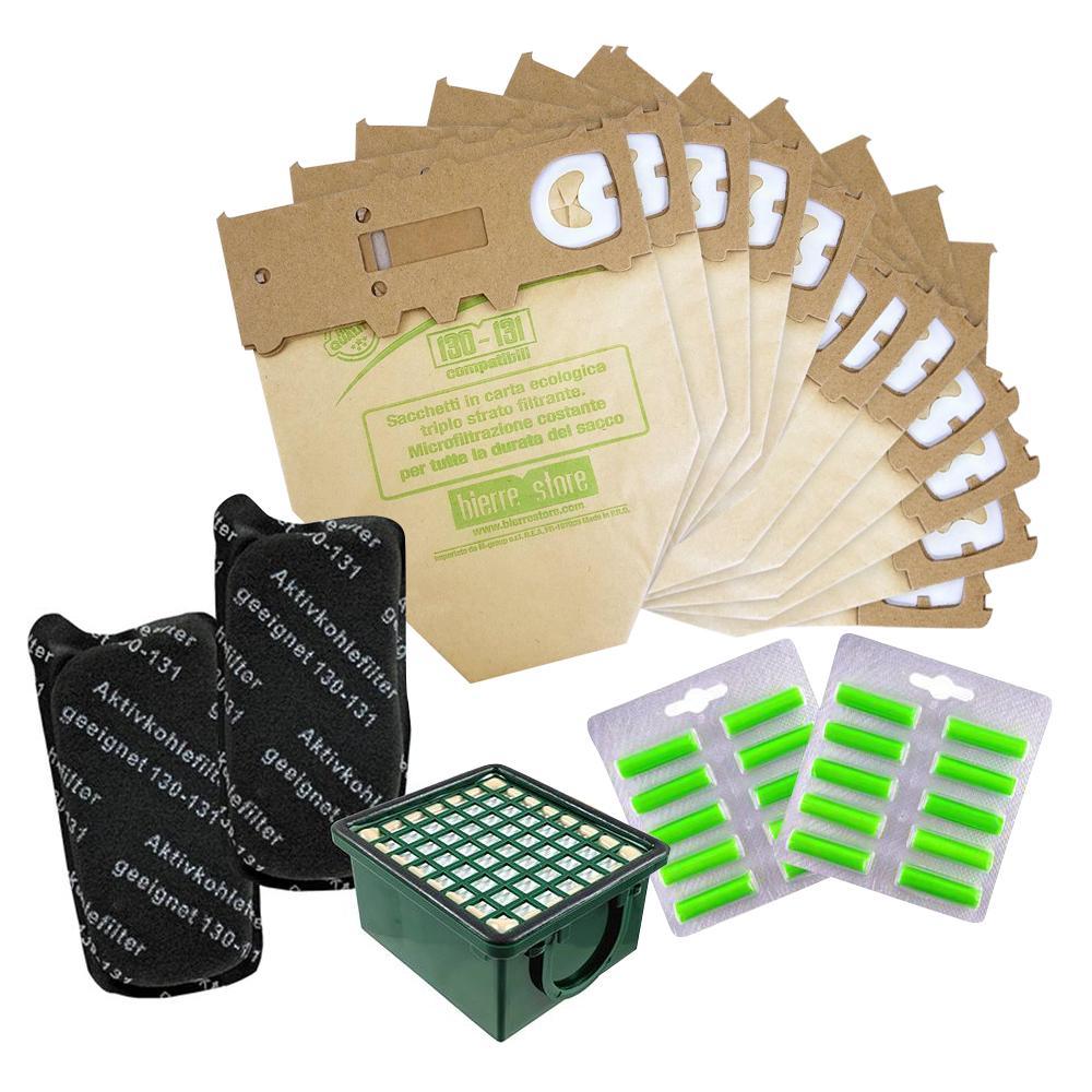 bierre store sacchetti folletto vk130 vk131 filtri compatibili