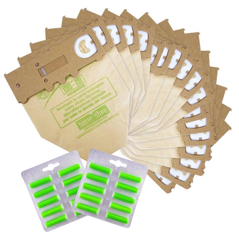 bierre store sacchetti folletto vk 131 vk 130 18pz  20 profumini compatibili