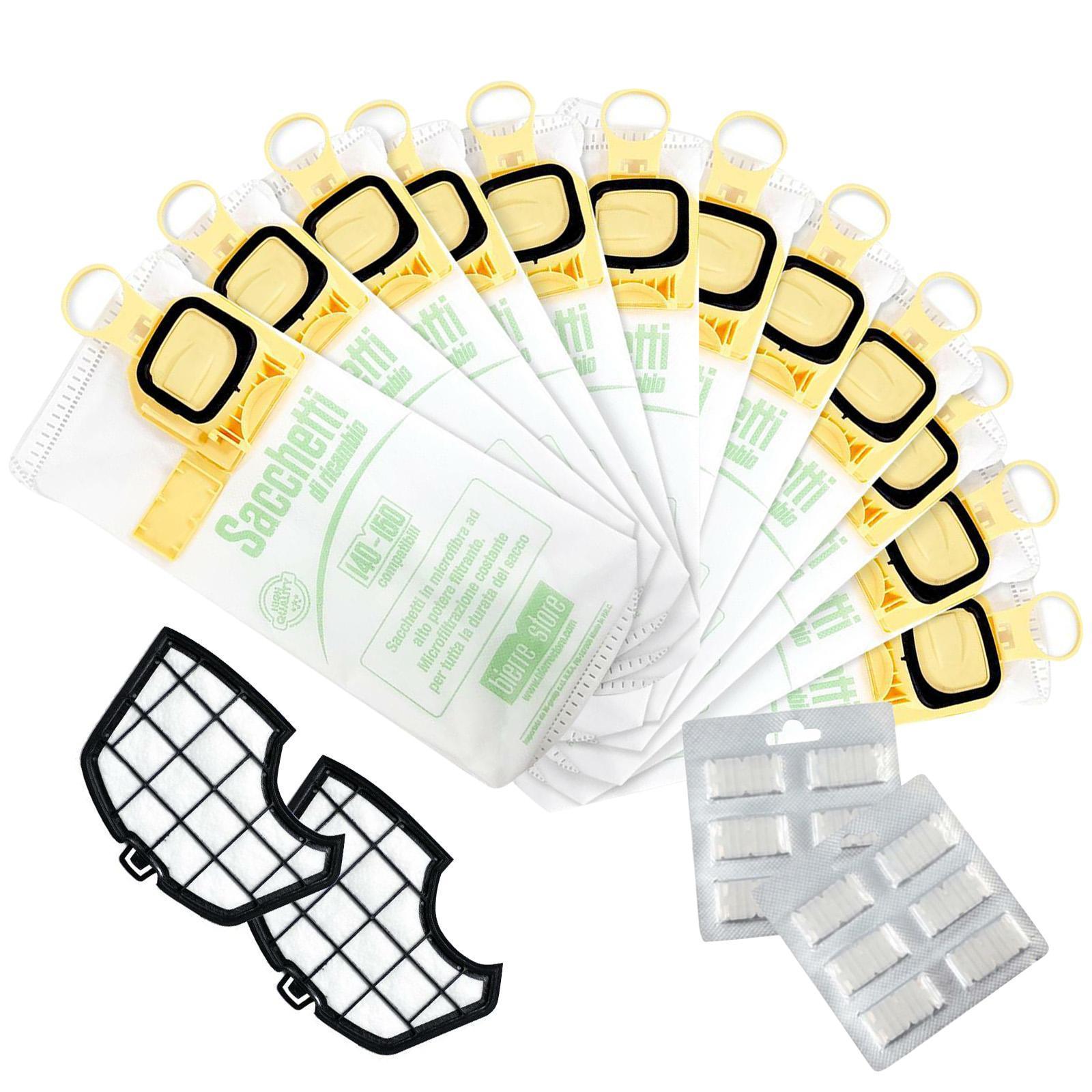 bierre store sacchetti folletto vk 140 vk 150 12pz profumi filtri compatibili