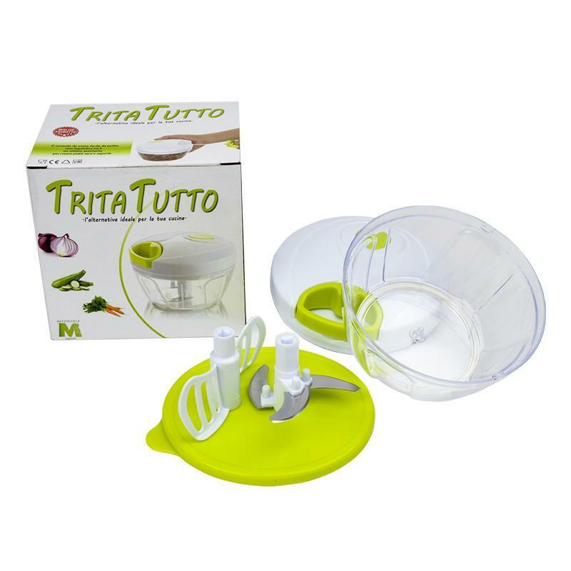 m-group tritatutto manuale minicutter 3 lame a corda