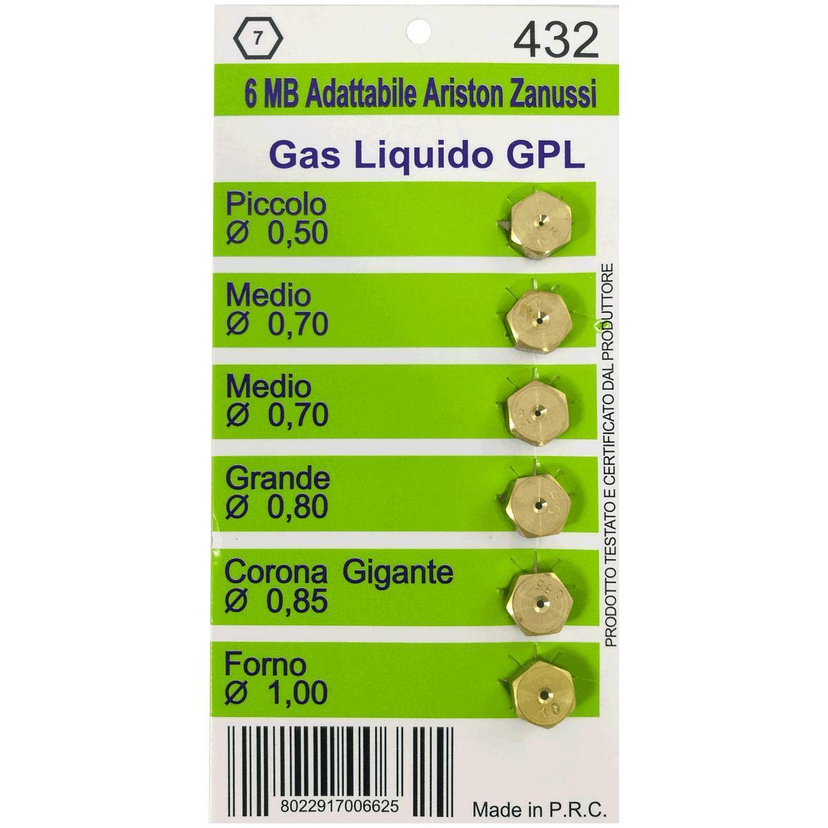 bierre store ugelli gas gpl cucine ariston zanussi 6mb 5pz