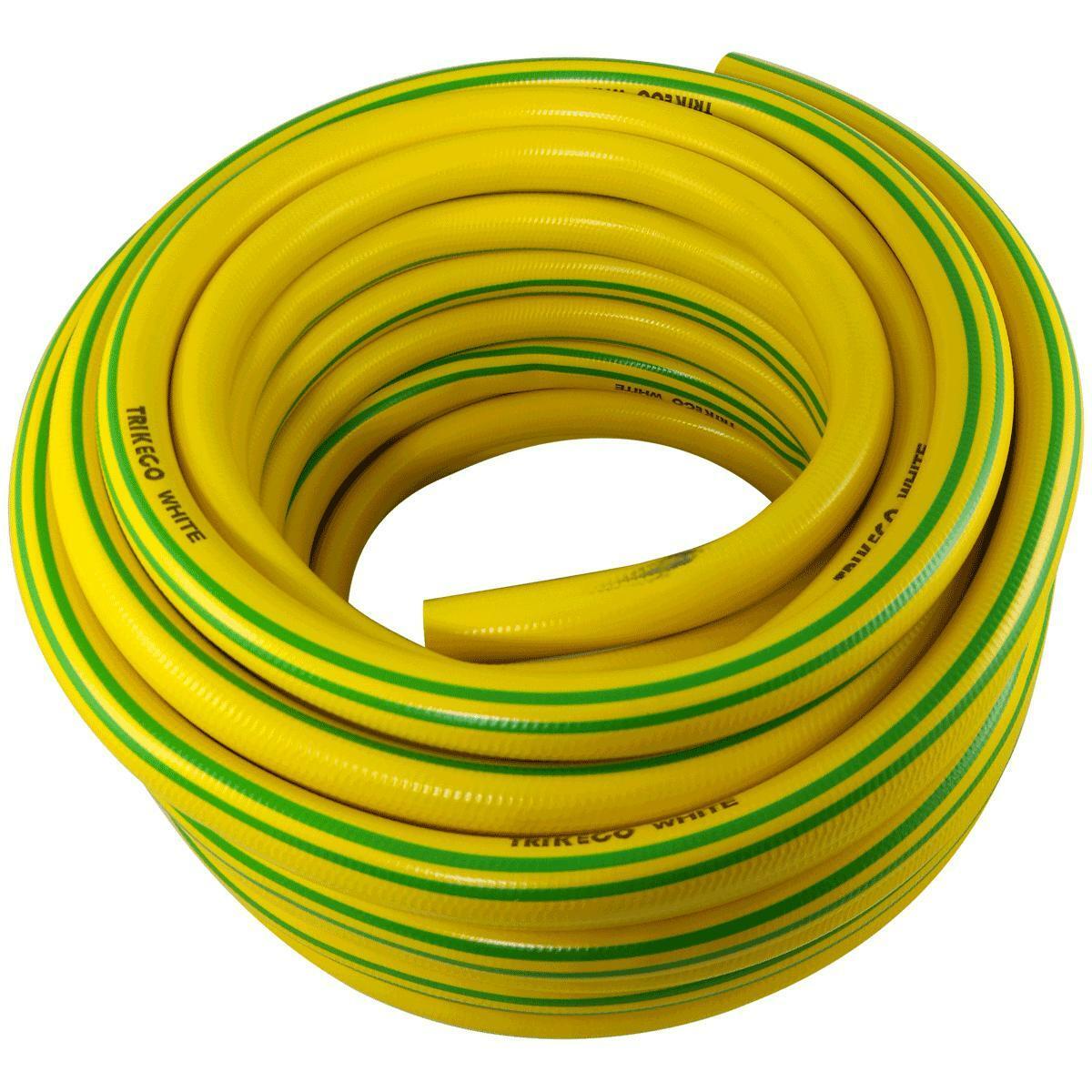 trikeco tubo da giardino magliato 25m trikeco white 3/4 19mm