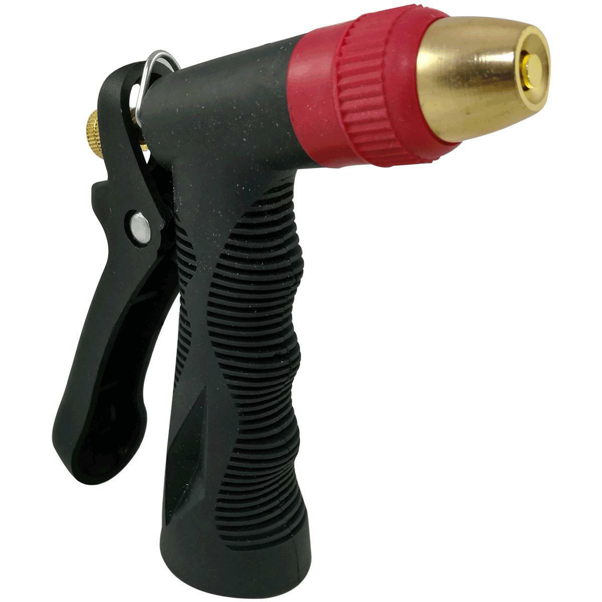pistola a lancia regolabile per irrigazione in ottone