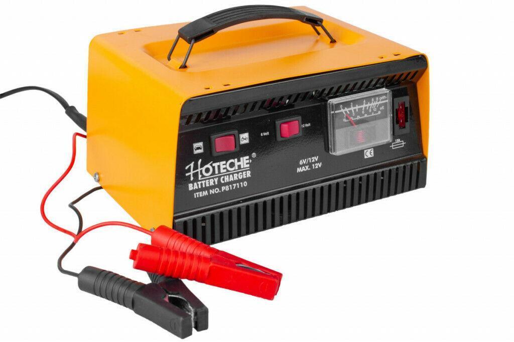 oxford carica batteria 6a /12v professionale
