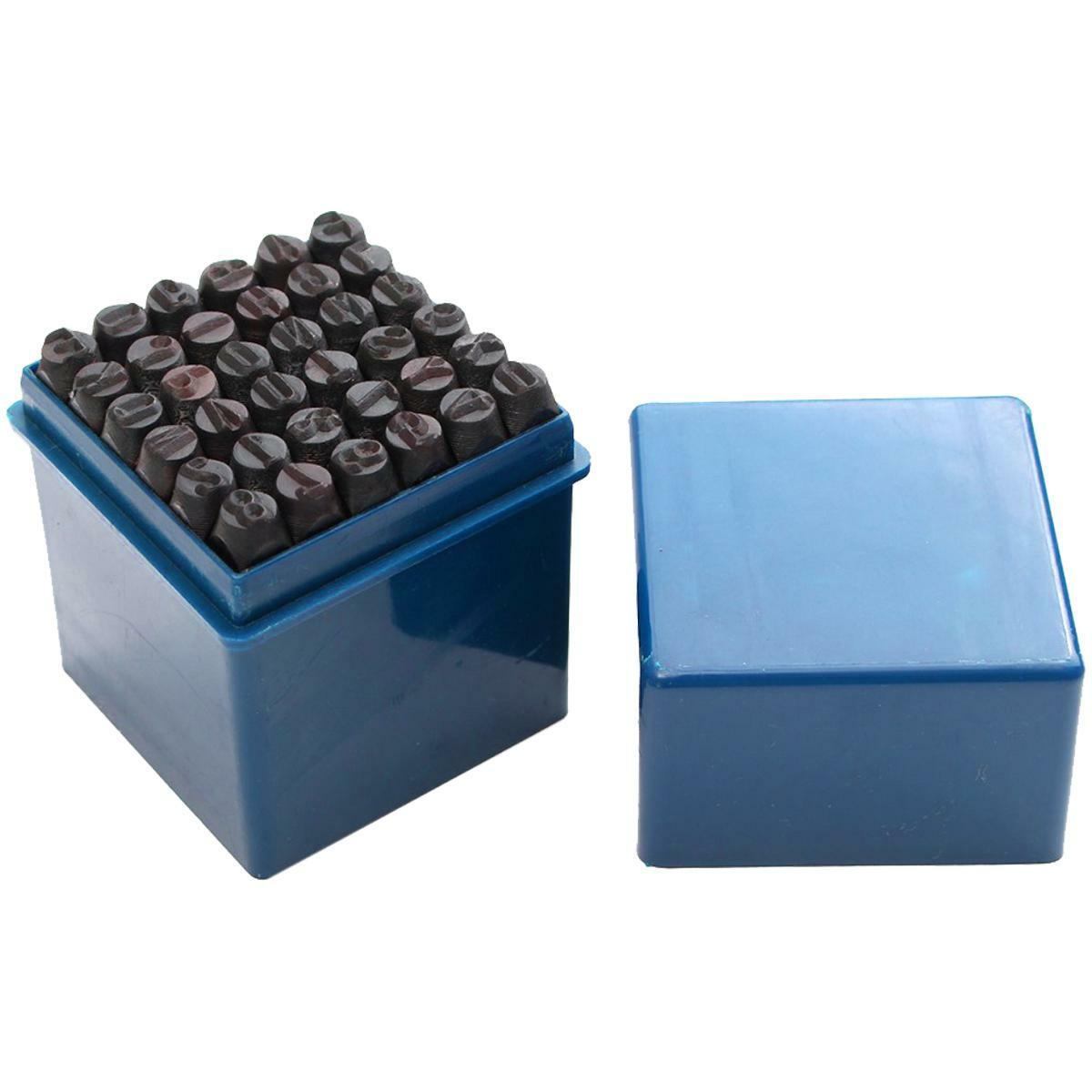 oxford punzoni lettere e numeri 36pz 8mm