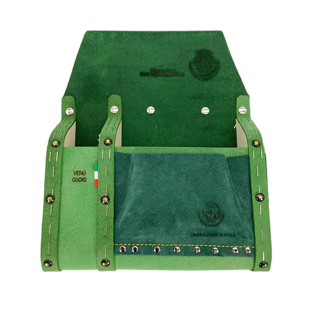 paglia borsa da carpentiere in cuoio portattrezzi made in italy