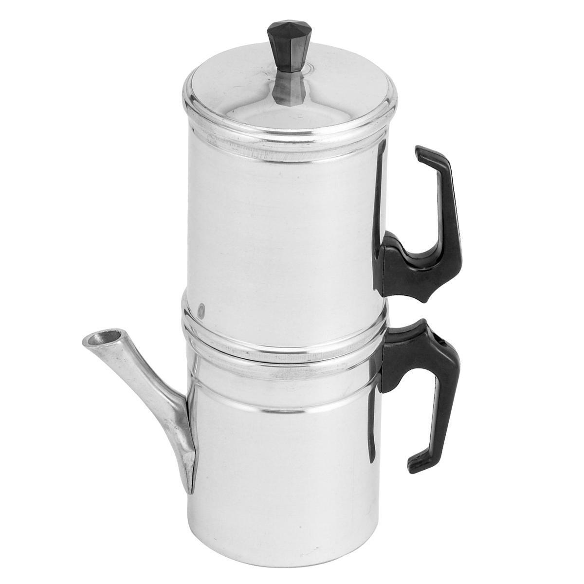 ilsa caffettiera napoletana classica in alluminio 3tz