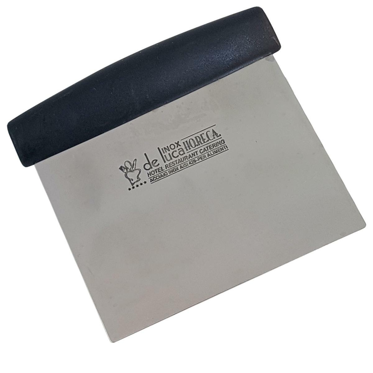 de luca spatola taglia pasta inox 12x8 cm