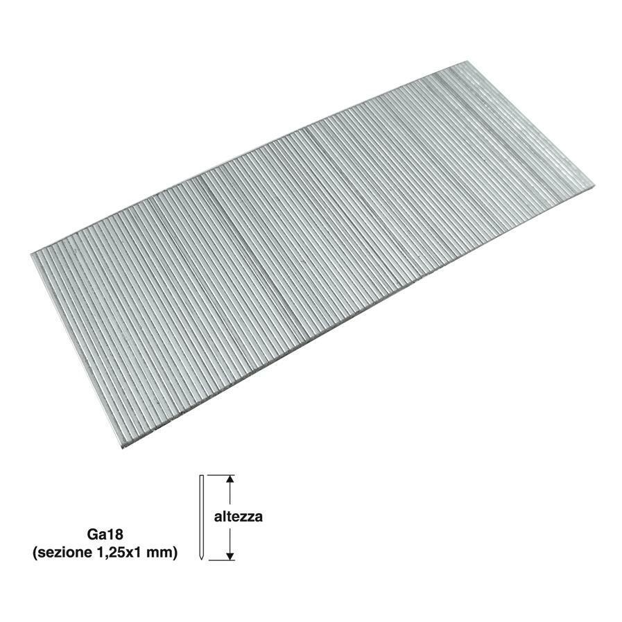 valex spilli per puntatrice chiodatrice valex lunghezza 40mm testa 1,25x1mm