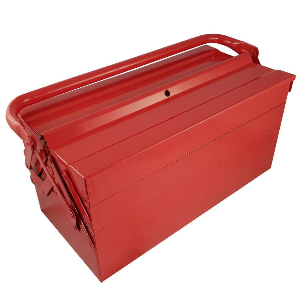 oxford cassetta in metallo porta attrezzi a 5 scomparti oxford
