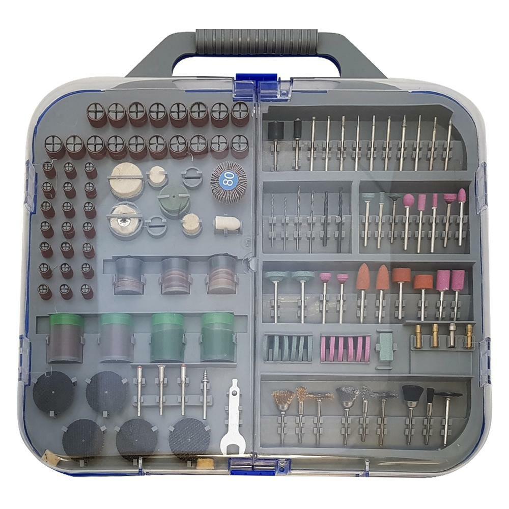 oxford valigetta kit accessori 249pz per trapano e dremel oxford