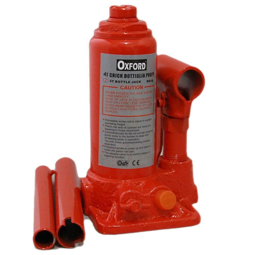 oxford cric a bottiglia portatile 4000kg in valigia oxford