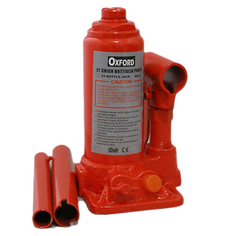 oxford cric a bottiglia portatile 2000kg in valigia oxford