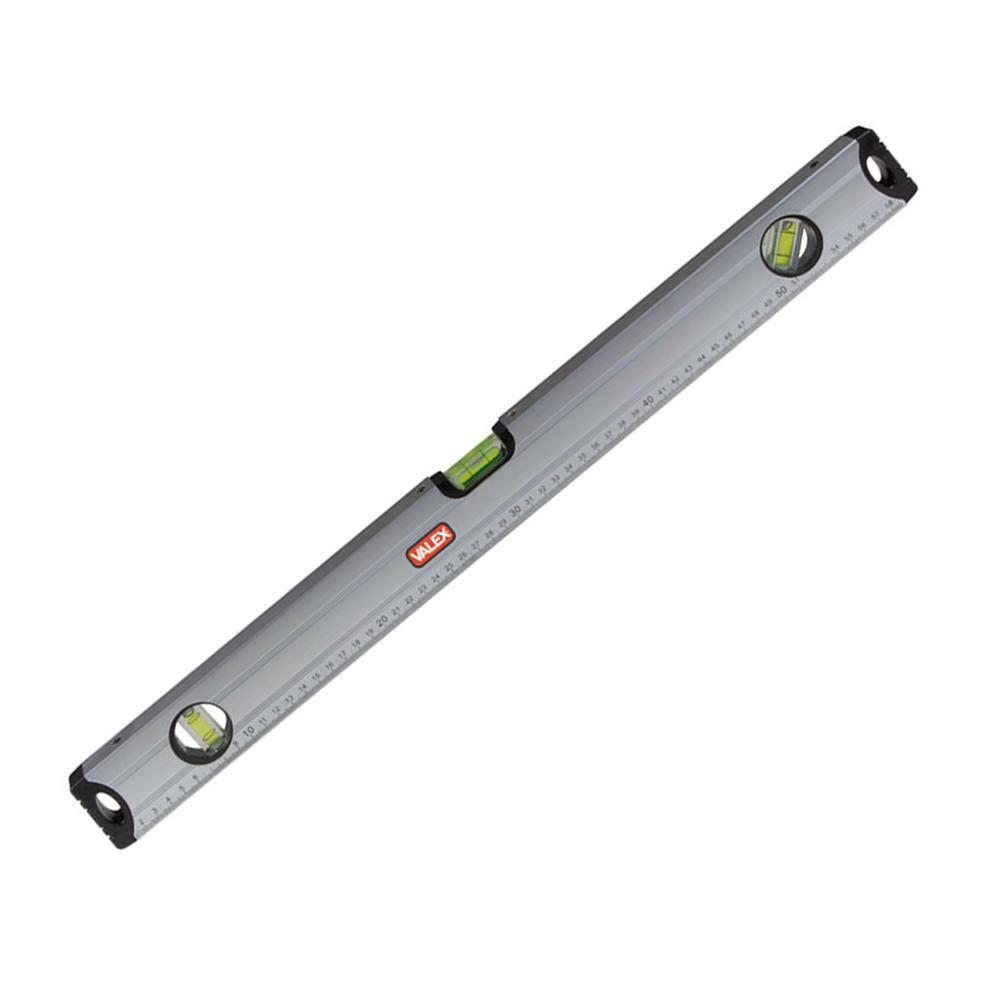 valex livella in alluminio millimetrato 500 mm