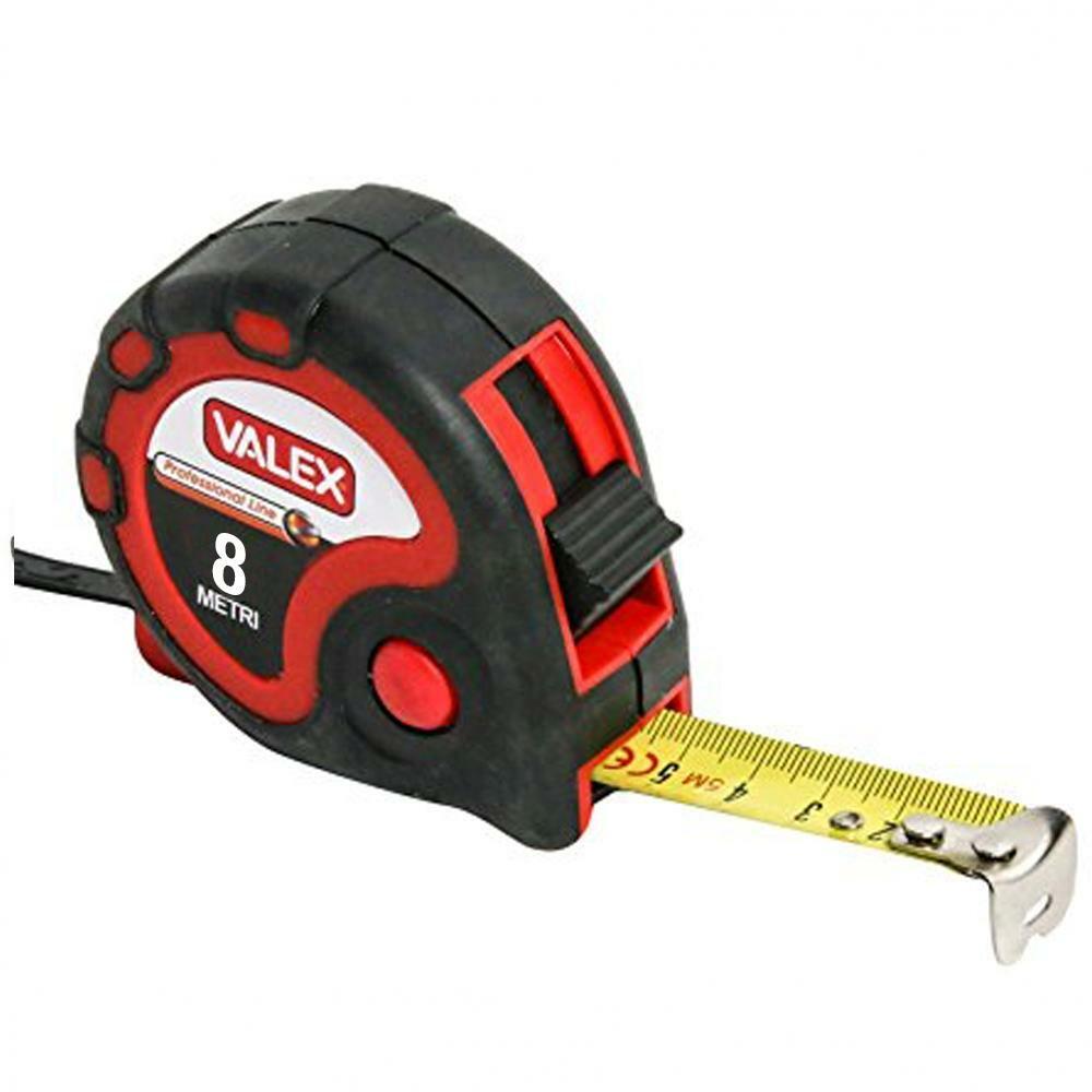 valex flessometro professionale 8mt valex
