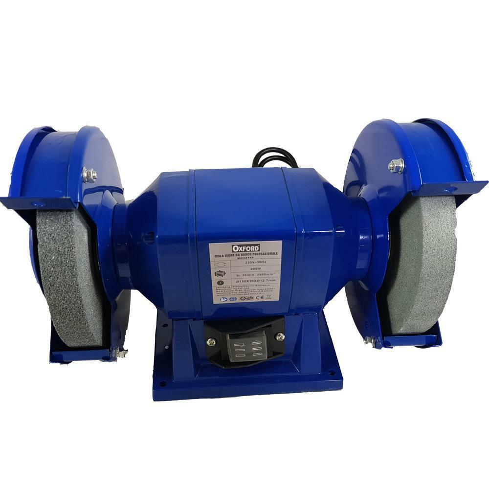 oxford mola smerigliatrice 150 mm doppia molatrice 200w da banco
