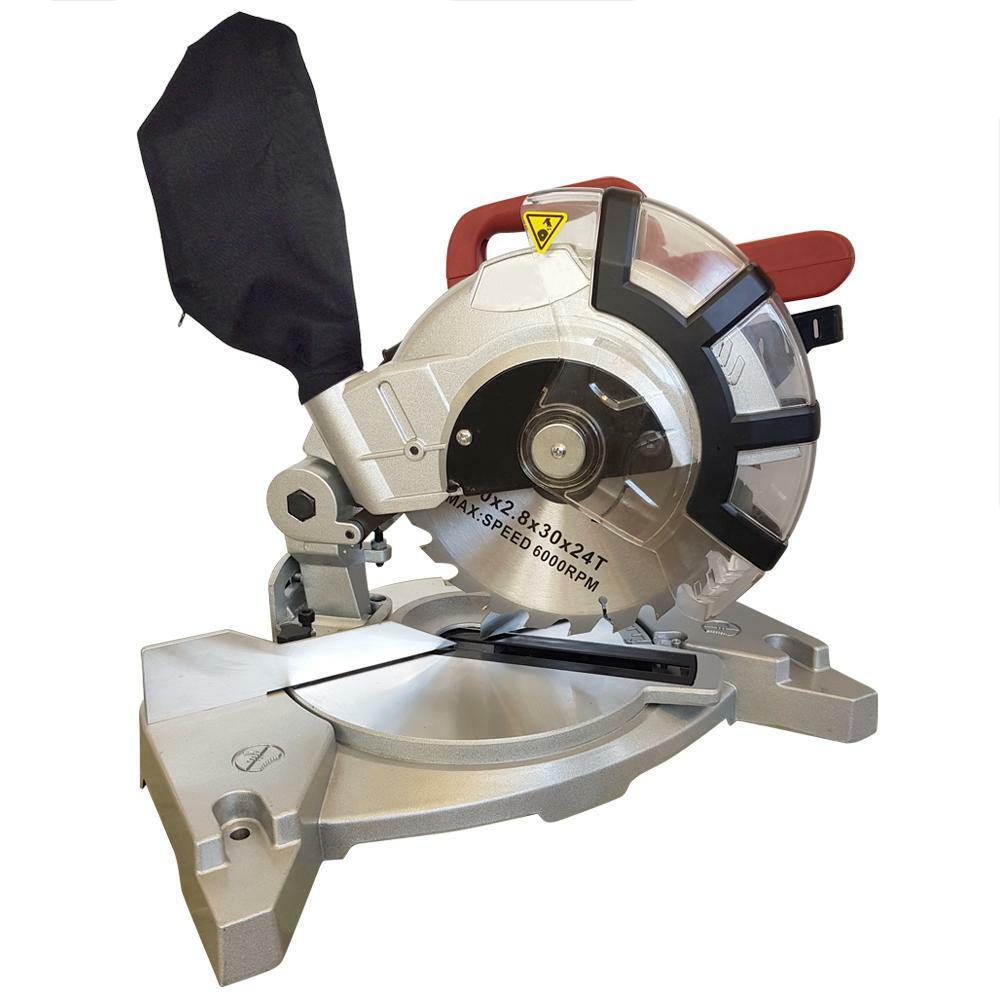 troncatrice per legno 210 mm 1400w circolare con angolo regolabile