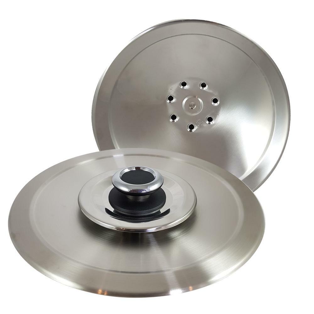 light coocker coperchio magico inox 18-10 da 32 con ricettario