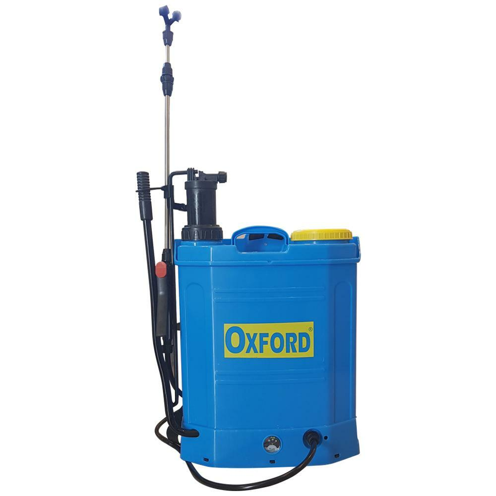 oxford pompa a spalla nebulizzatore 18 lt con batteria