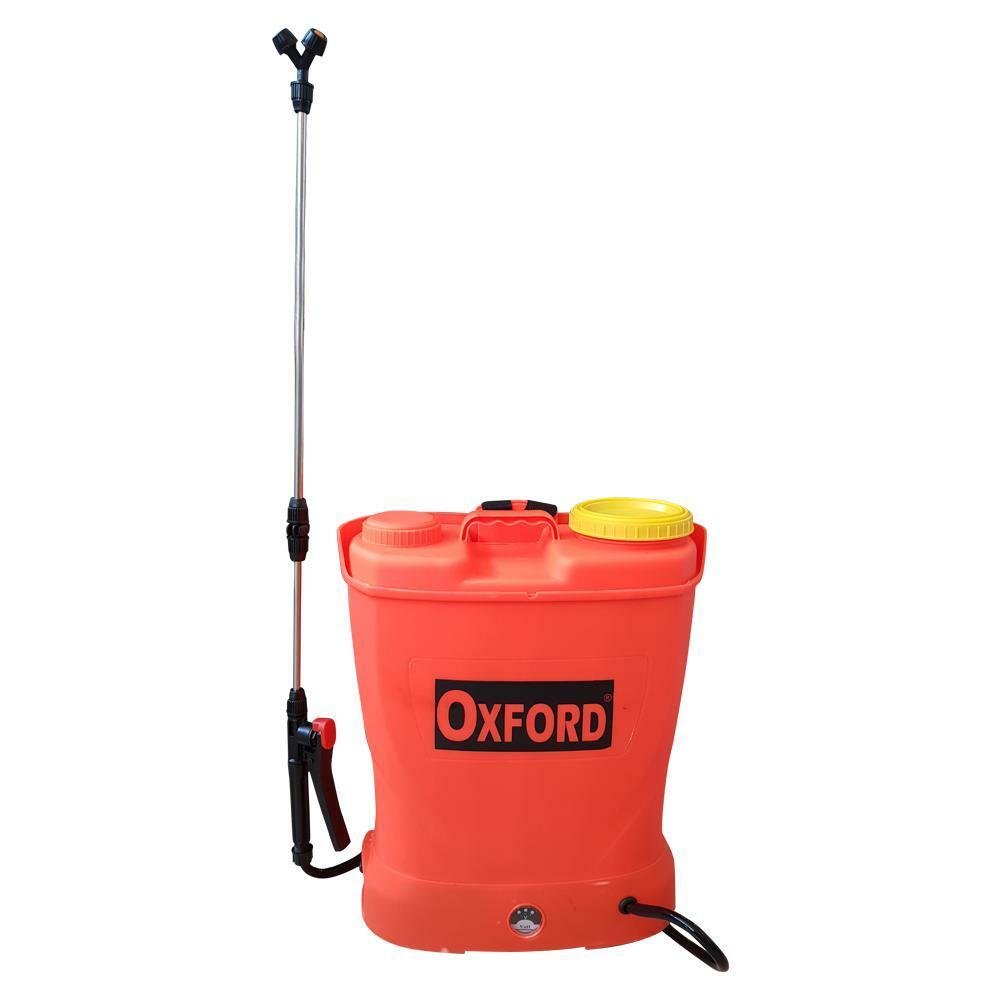 oxford pompa a spalla con batteria 18v a zaino