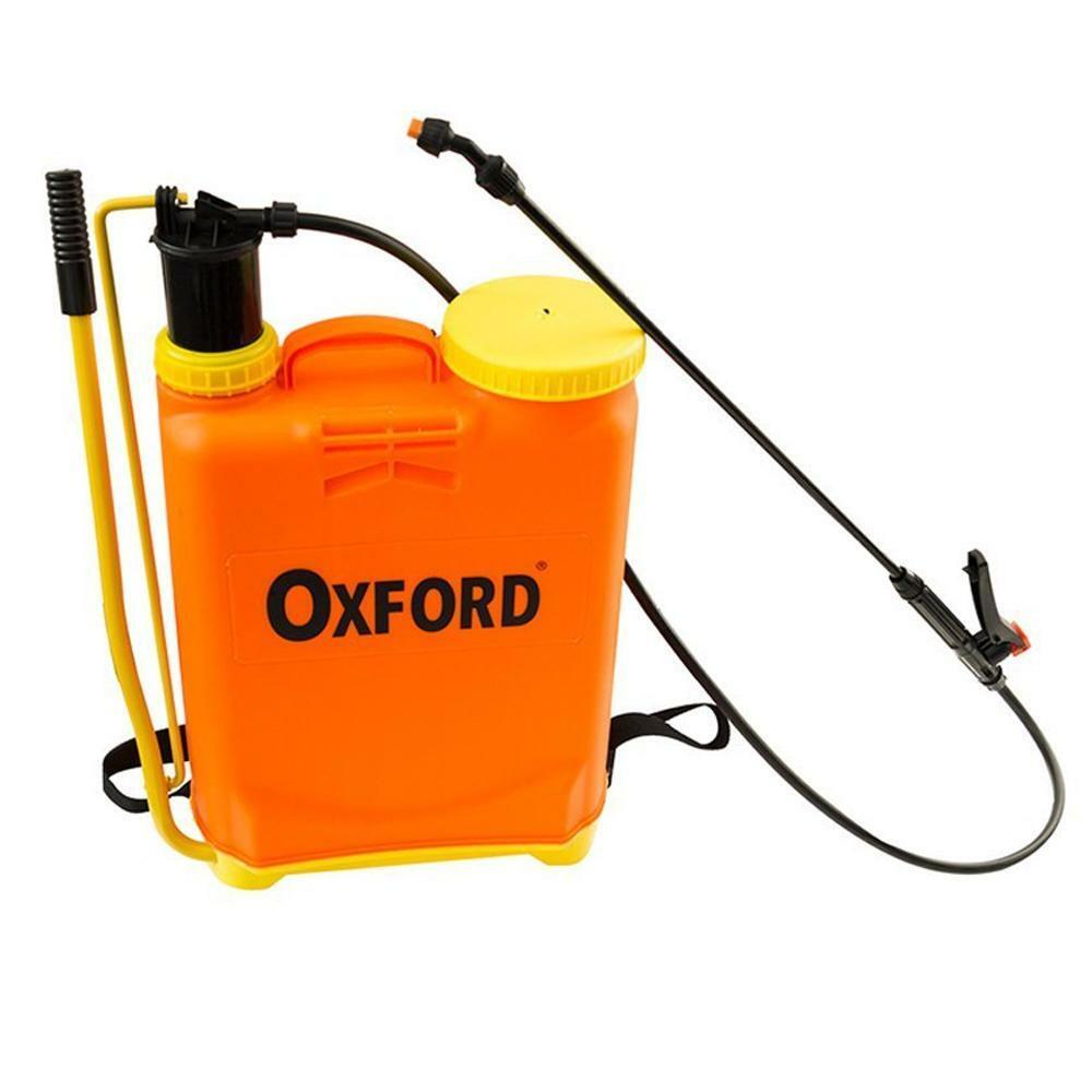 oxford pompa a spalla zaino manuale 16 lt
