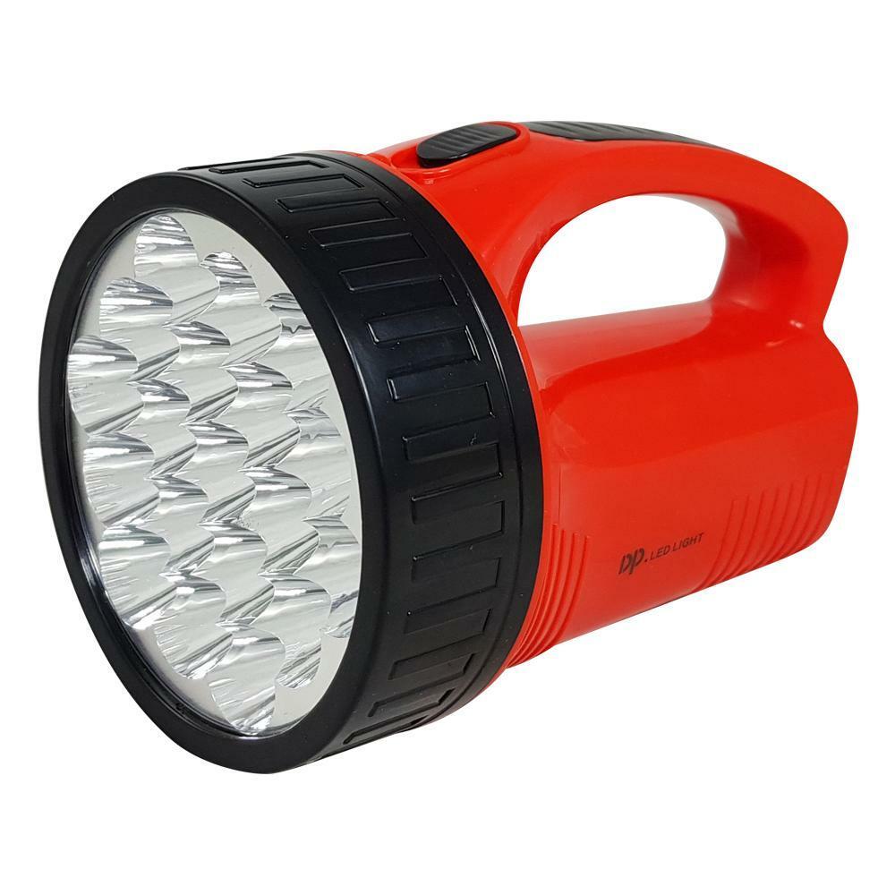 dp led light torcia faretto led ricaricabile 19 led 6/12 ore