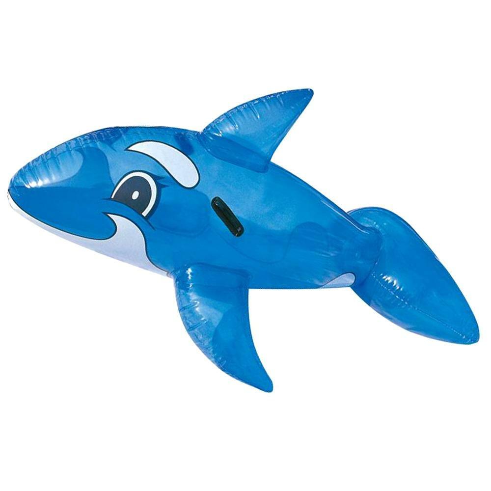bestway gonfiabile in pvc trasparente delfino bestway