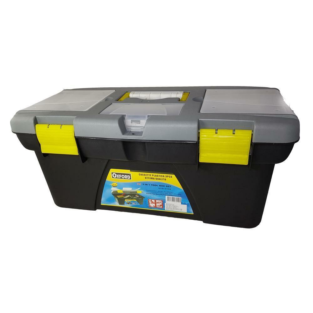 oxford valigia porta utensili in abs 14x14x31