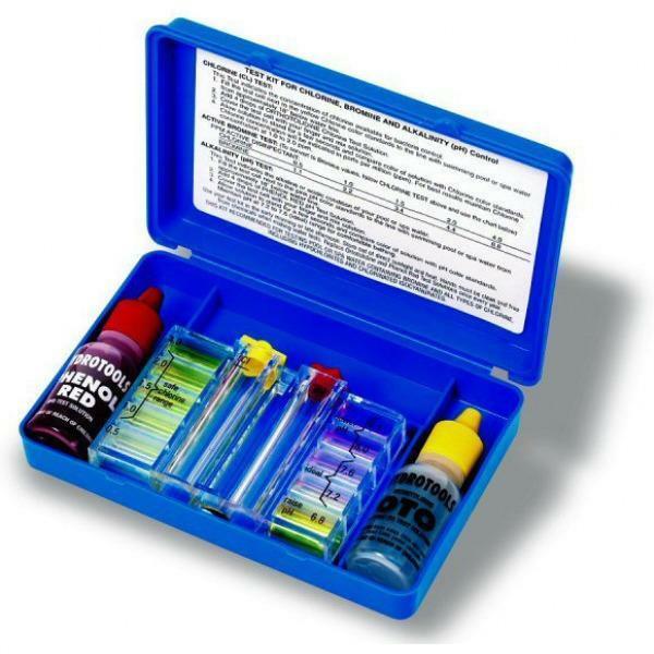 bestway test ph 3pz con reagenti analisi cloro per piscine