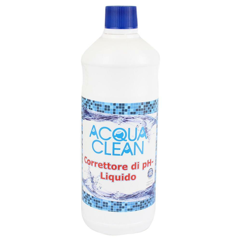 acqua clean correttore ph acqua per piscine valore ph- acqua clean 1 lt