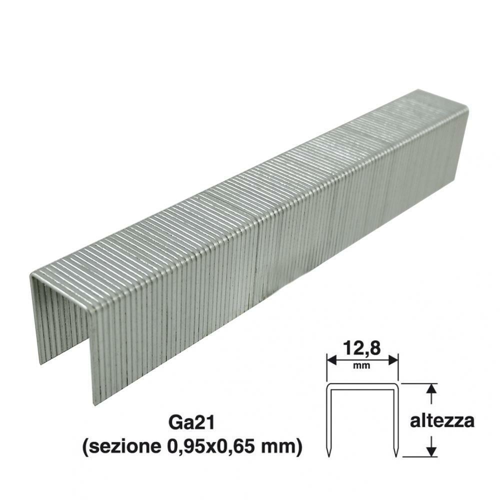 valex punti per puntatrice valex 12x12,8mm confezione da 1000pz