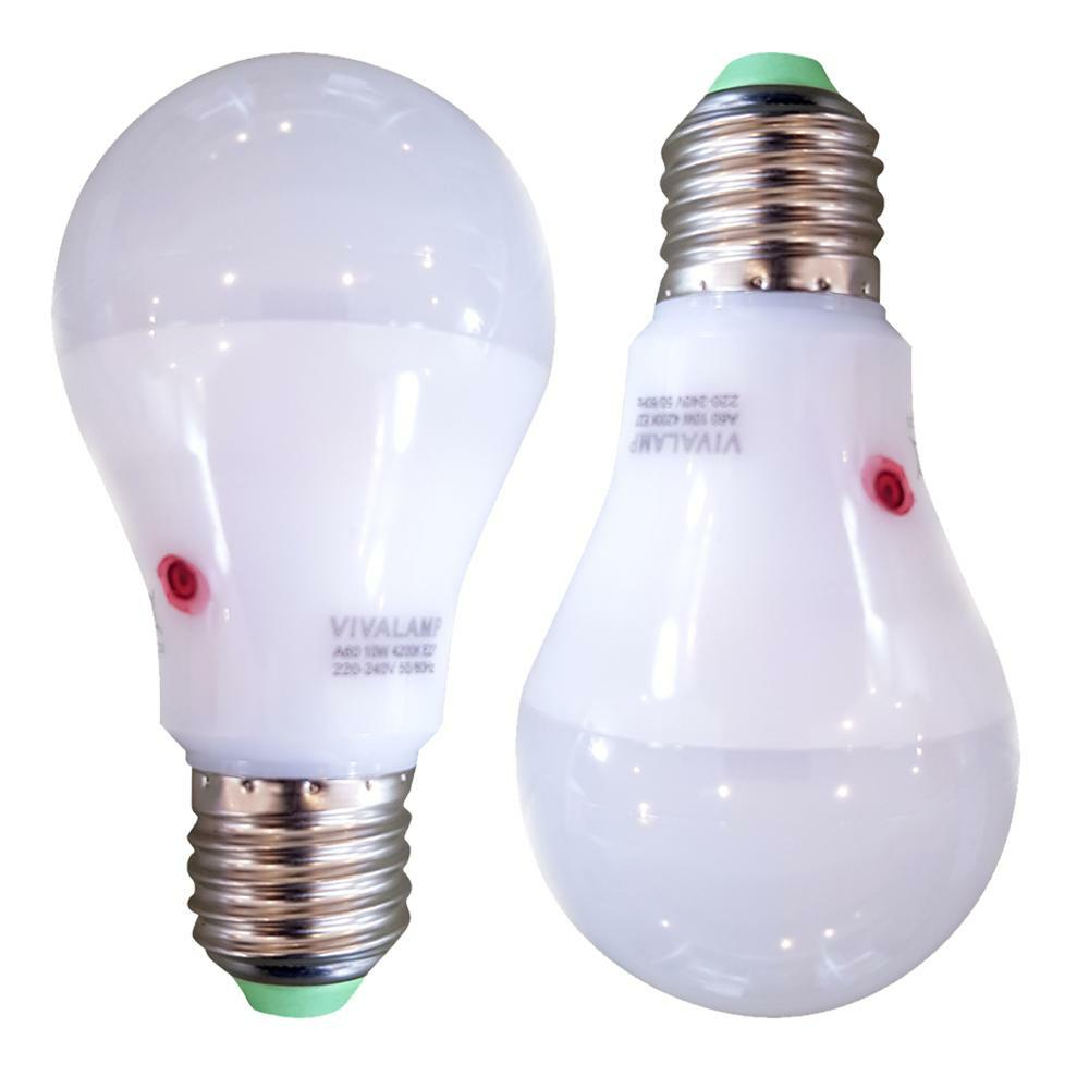 bierrestore kit 2 lampadine led crepuscolari 10w 4200k e 27