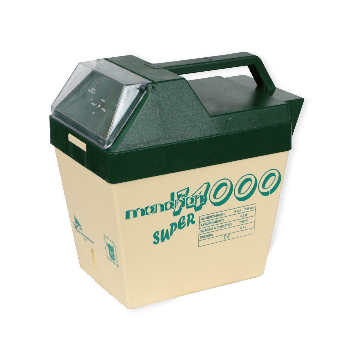 lacme elettrificatore per recinto a batteria mandrian 14000