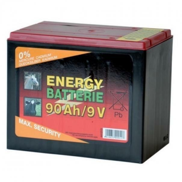lacme pila 9v 90ah 10000h batteria per elettrificatori recinzioni elettrificate