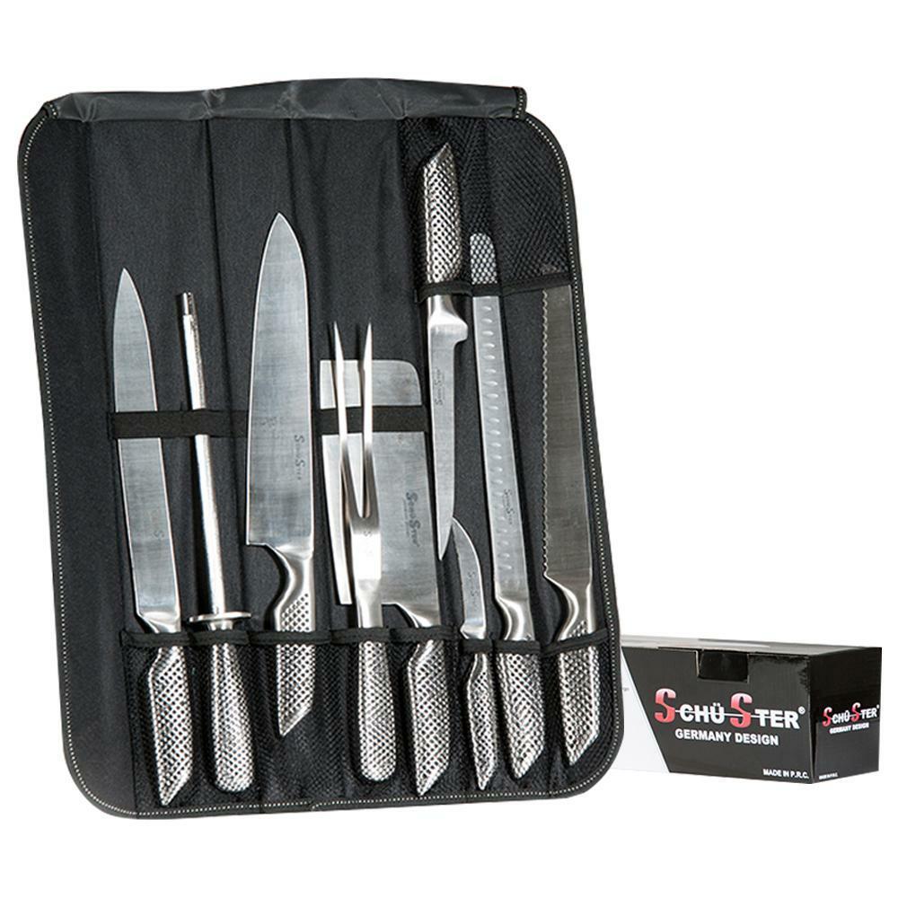 oxford set 8 pezzi coltelli professionali in serie con astuccio