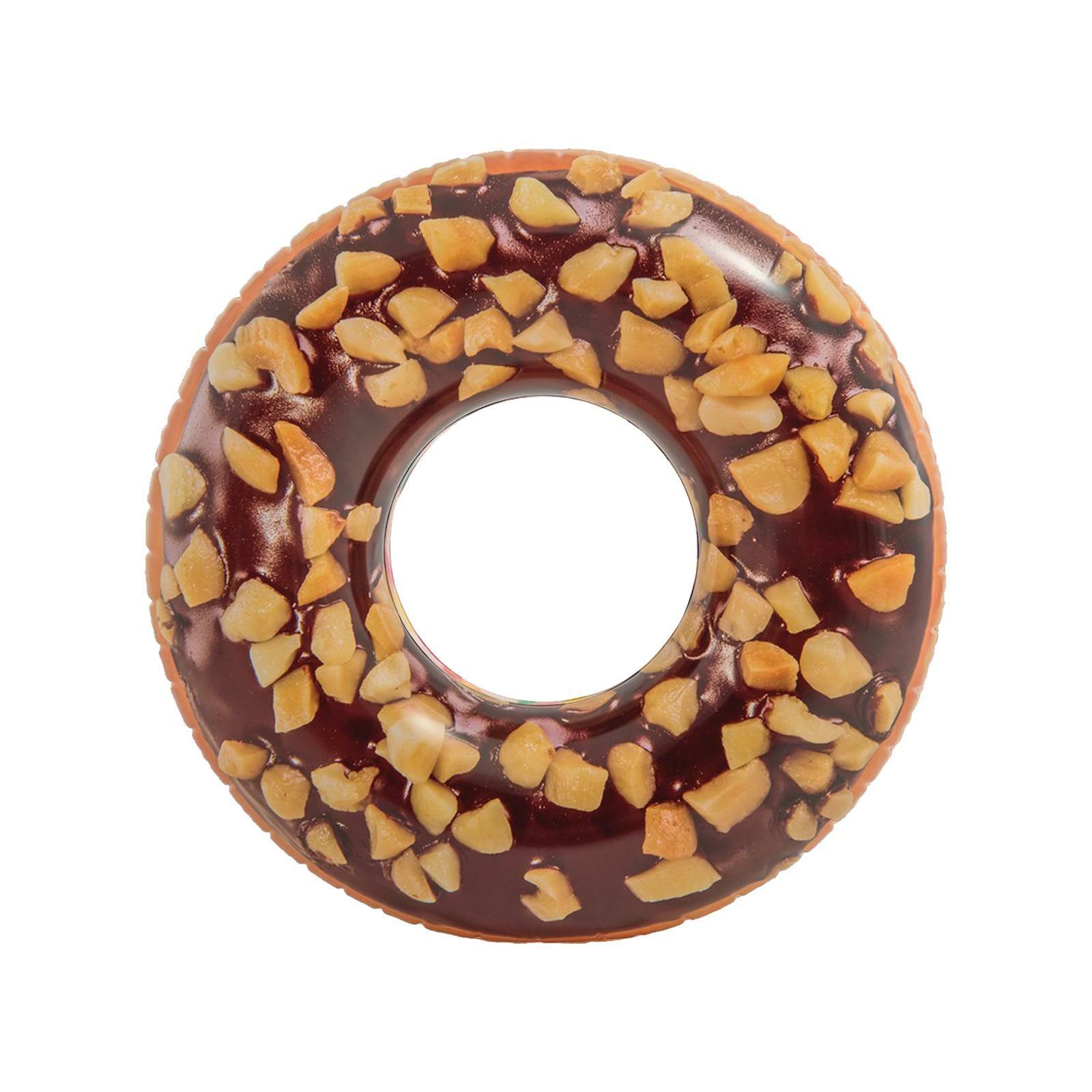 fratelli pesce ciambella maxi cioccolata e donut 114cm intex 56262