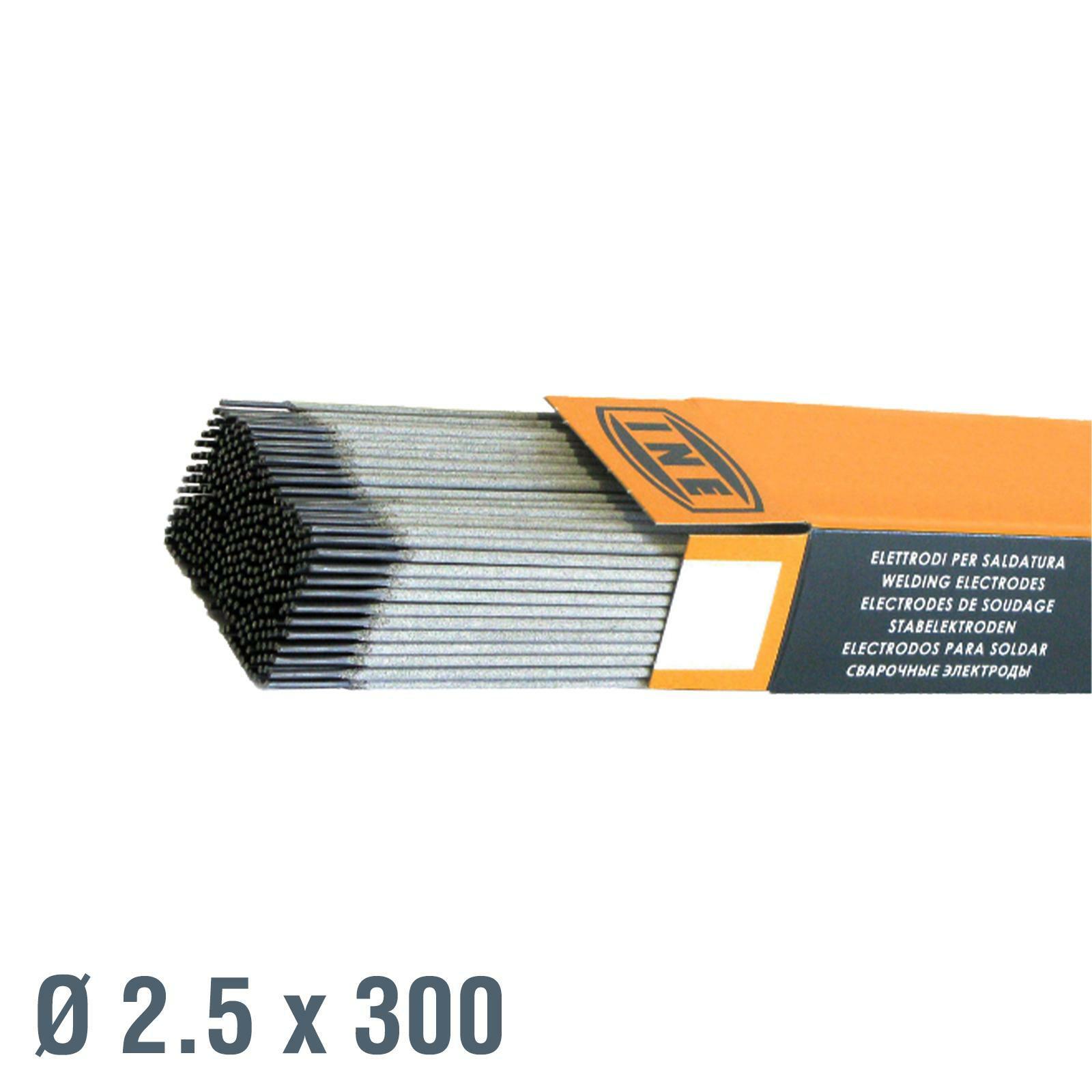 ine elettrodi per saldatrice 48a 2,5x300 230 pezzi ine