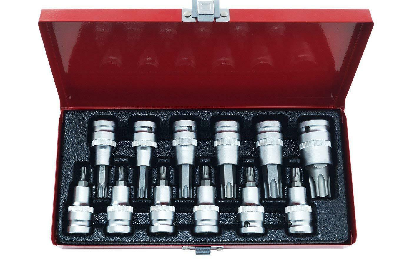oxford chiavi a bussola torx in acciaio 12 pezzi oxford
